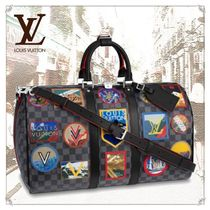 Louis Vuitton DAMIER GRAPHITE Unisex Street Style 1-3 Days Carry-on Luggage & Travel Bags