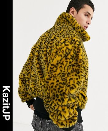 Leopard Patterns Faux Fur Street Style Other Animal Patterns