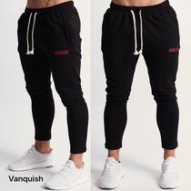 VANQUISH FITNESS Tapered Pants Sweat Cotton Tapered Pants