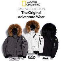 NATIONAL GEOGRAPHIC Unisex Street Style Down Jackets