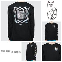 RIPNDIP Unisex Street Style Long Sleeves Long Sleeve T-Shirts