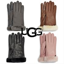 UGG Australia Unisex Street Style Plain Leather