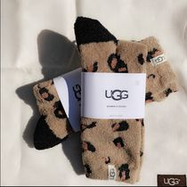 UGG Australia Star Leopard Patterns Logo Socks & Tights