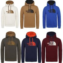 THE NORTH FACE Unisex Street Style Long Sleeves Plain Cotton Hoodies