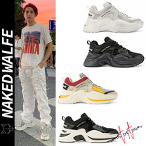 Naked Wolfe Street Style Plain Sneakers