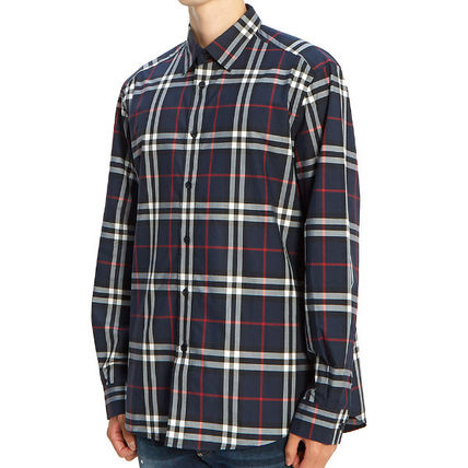 Burberry Shirts Long Sleeves Cotton Luxury Shirts 3