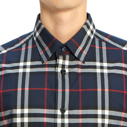Burberry Shirts Long Sleeves Cotton Luxury Shirts 7