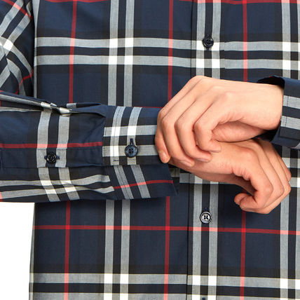Burberry Shirts Long Sleeves Cotton Shirts 9
