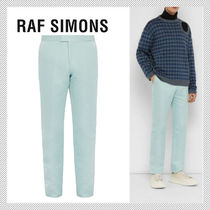 RAF SIMONS Plain Cropped Pants
