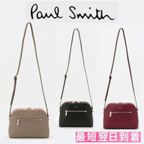 Paul Smith Leather Elegant Style Shoulder Bags