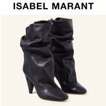 Isabel Marant Plain Leather Ankle & Booties Boots