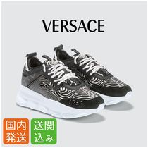 VERSACE Street Style Other Animal Patterns Sneakers