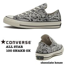 CONVERSE ALL STAR Unisex Python Sneakers