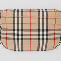 Burberry Gingham Other Plaid Patterns Casual Style Street Style