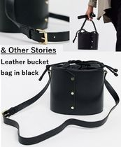 & Other Stories Casual Style Plain Leather Purses Shoulder Bags