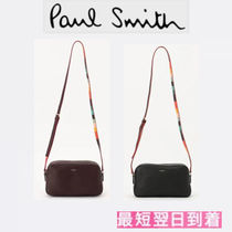 Paul Smith Casual Style Leather Shoulder Bags