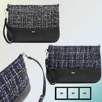 MISAKO Casual Style Faux Fur Blended Fabrics 3WAY Shoulder Bags