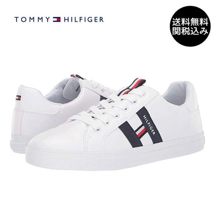 Round Toe Plain Low-Top Sneakers