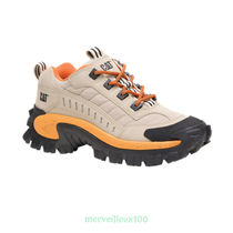 Caterpillar Street Style Leather Sneakers