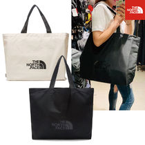 THE NORTH FACE WHITE LABEL Unisex Bag in Bag A4 2WAY Plain Totes