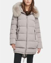 DKNY Plain Medium Down Jackets
