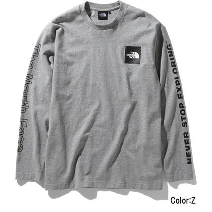 THE NORTH FACE Long Sleeve Crew Neck Unisex Long Sleeves Logos on the Sleeves 6