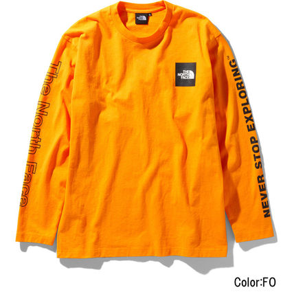 THE NORTH FACE Long Sleeve Crew Neck Unisex Long Sleeves Logos on the Sleeves 8
