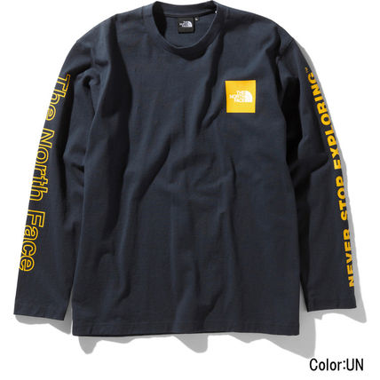 THE NORTH FACE Long Sleeve Crew Neck Unisex Long Sleeves Logos on the Sleeves 10