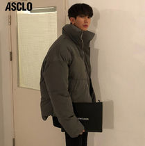 ASCLO Plain Oversized Down Jackets