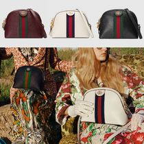 GUCCI Ophidia Casual Style Suede Plain Crossbody Shoulder Bags