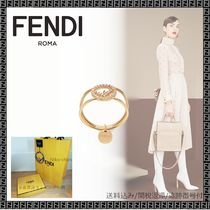 FENDI Casual Style Party Style Office Style Elegant Style Fine