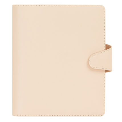 A5 Leather Personal Planner/SIGNATURE EDITION/Almond