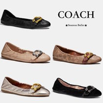 Coach STANTON Platform Casual Style Leather Office Style Lace-Up Shoes