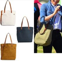 Ron Herman Casual Style Canvas A4 2WAY Plain Totes
