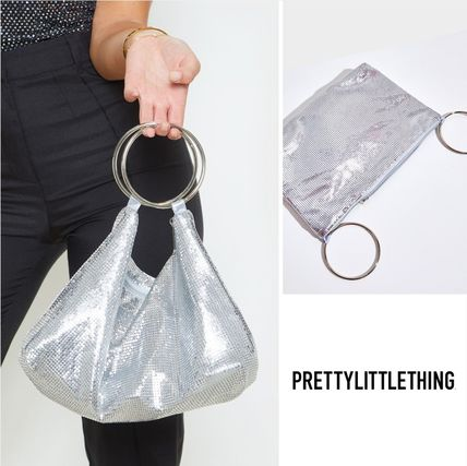 Casual Style Street Style Party Style Clutches