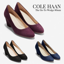 Cole Haan Plain Leather Office Style Formal Style  Pumps & Mules