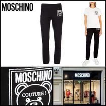 Moschino Sweat Plain Cotton Sweatpants