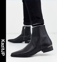 ASOS Street Style Leather Boots