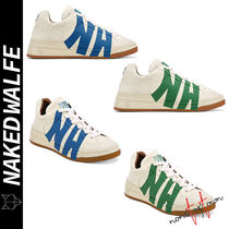 Naked Wolfe Plain Leather Handmade Sneakers