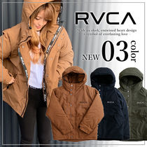 RVCA Unisex Plain Down Jackets