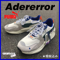 ADERERROR Faux Fur Street Style Collaboration Plain Sneakers