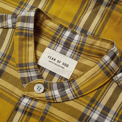 FEAR OF GOD Shirts Other Check Patterns Cotton Shirts 4