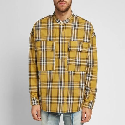 FEAR OF GOD Shirts Other Check Patterns Cotton Shirts 7