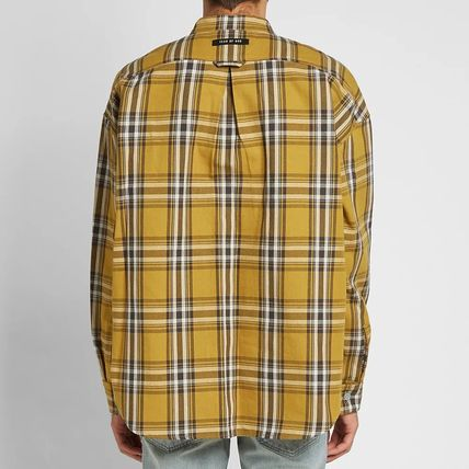 FEAR OF GOD Shirts Other Check Patterns Cotton Shirts 8