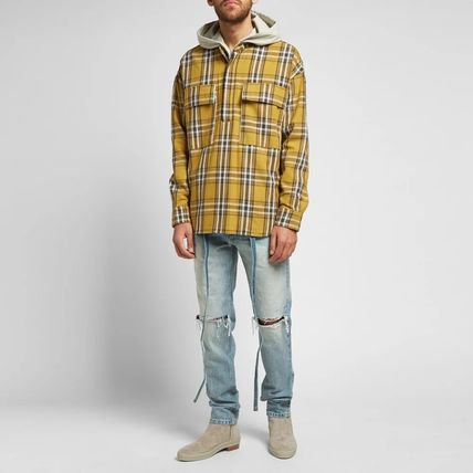 FEAR OF GOD Shirts Other Check Patterns Cotton Shirts 9