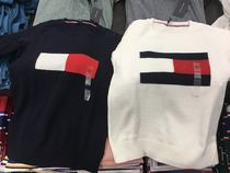 Tommy Hilfiger Crew Neck Long Sleeves Sweaters