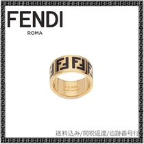 FENDI Casual Style Unisex Party Style Brass Office Style