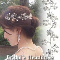 Flower With Jewels Hair Accessories