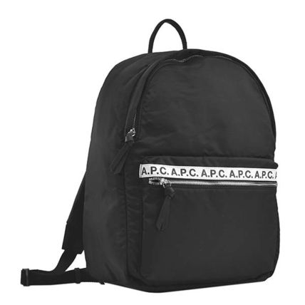 A.P.C. Plain Logo Backpacks
