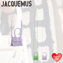 JACQUEMUS Casual Style Calfskin Street Style Bags
